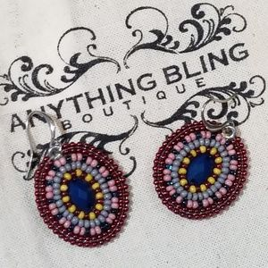 Native American beaded earrings